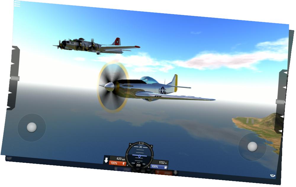 P-51D_B-17